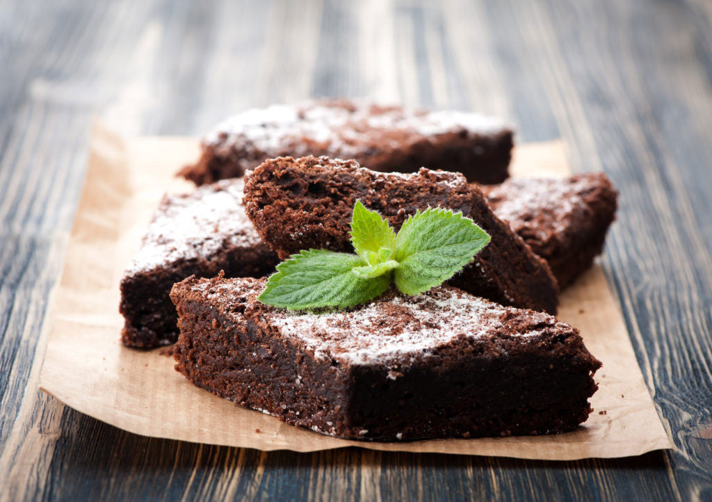 Herbal Chocolate Brownies