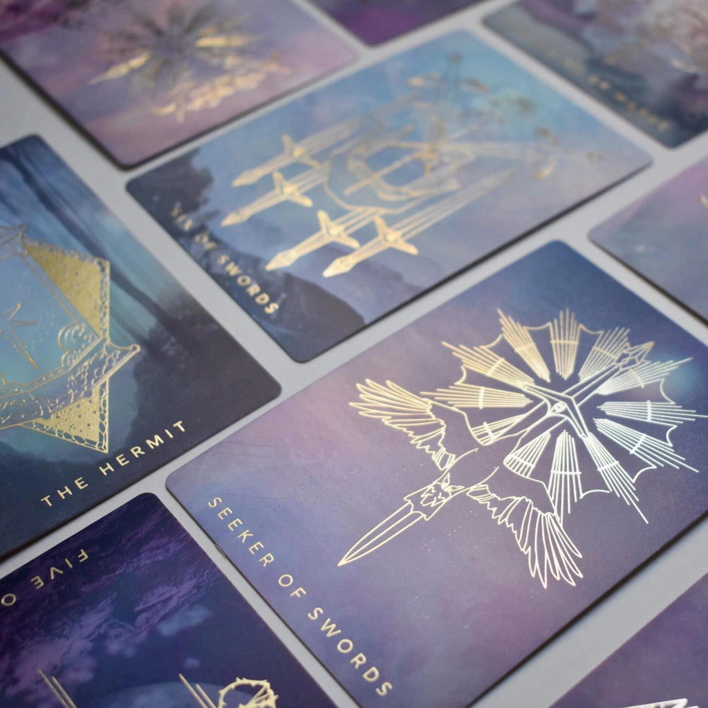 The Weaver Tarot | Journeyer - Unearthed Crystals