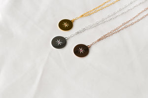 STARBURST Necklace | July | Ruby - Unearthed Crystals