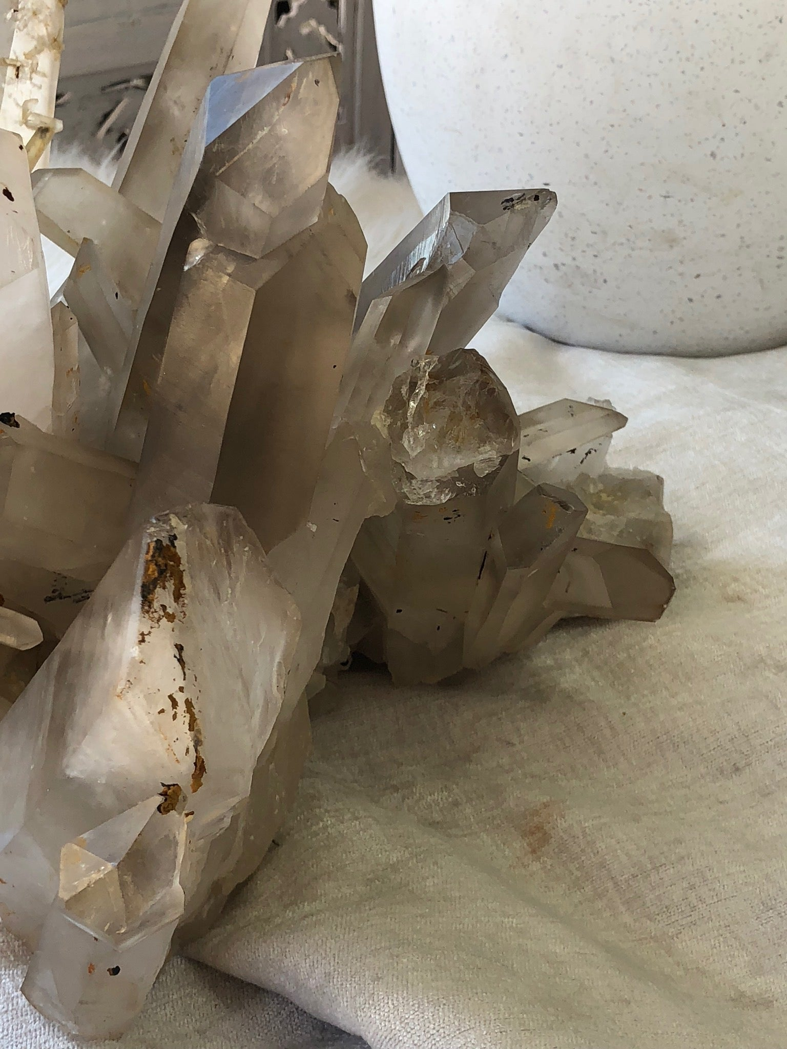 Clear Quartz Cluster - Unearthed Crystals