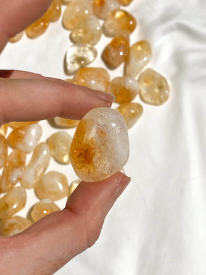 Citrine Tumbles | Small - Unearthed Crystals