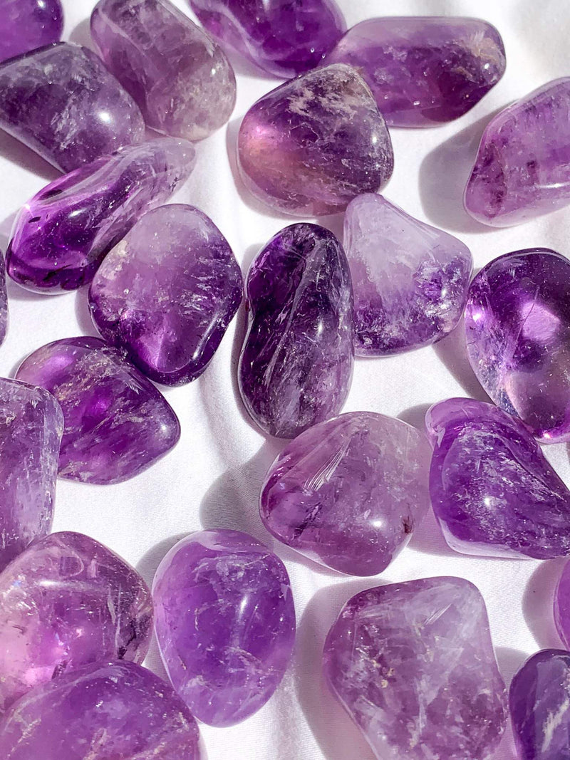 Amethyst Tumbles | Small - Unearthed Crystals