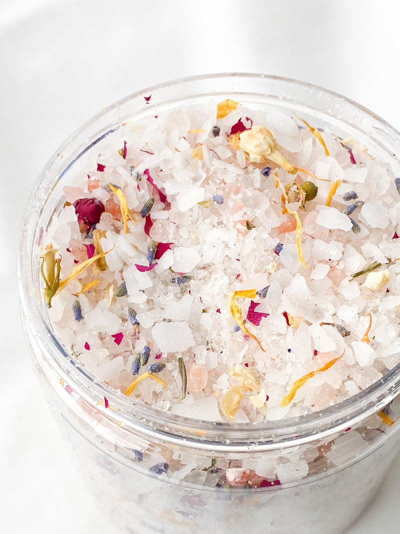 Bath Salts | Soulitude Blend - Unearthed Crystals