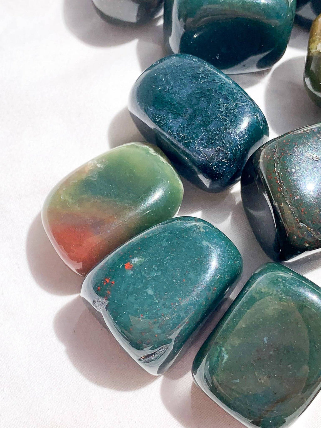 Bloodstone Tumbles | Medium - Unearthed Crystals