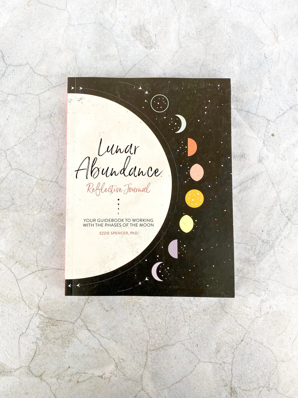 Lunar Abundance: Reflective Journal - Unearthed Crystals