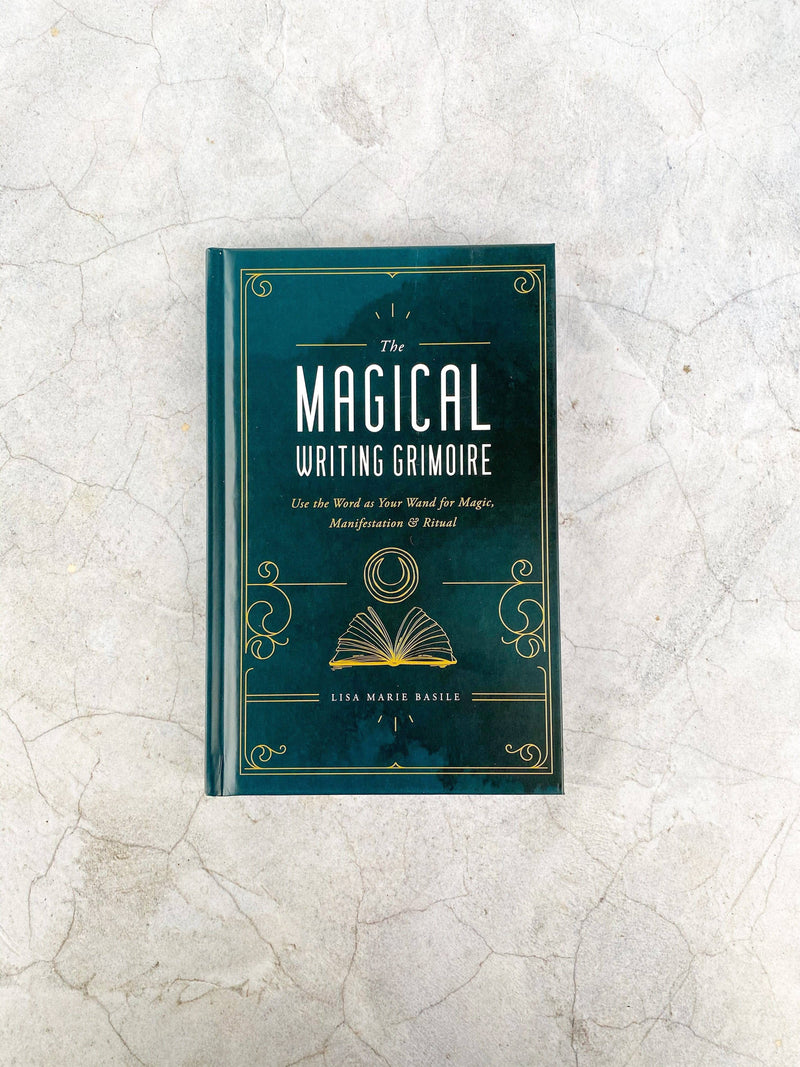 The Magical Writing Grimoire - Unearthed Crystals