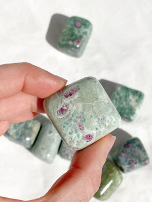 Ruby Fuchsite Freeform | Small - Unearthed Crystals