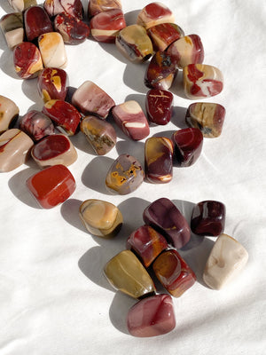 Mookaite Jasper Tumbles | Medium - Unearthed Crystals