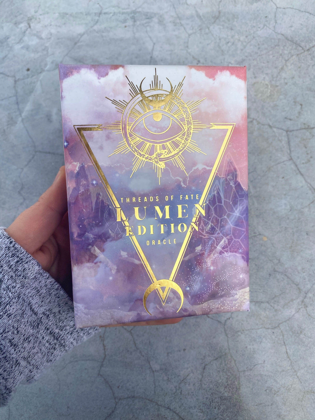 Threads of Fate Oracle Deck - Lumen Edition - Unearthed Crystals