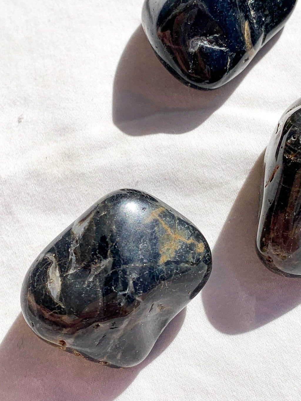 Black Onyx Tumbles | Large - Unearthed Crystals