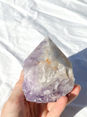 Polished Point Rough | Amethyst - Unearthed Crystals