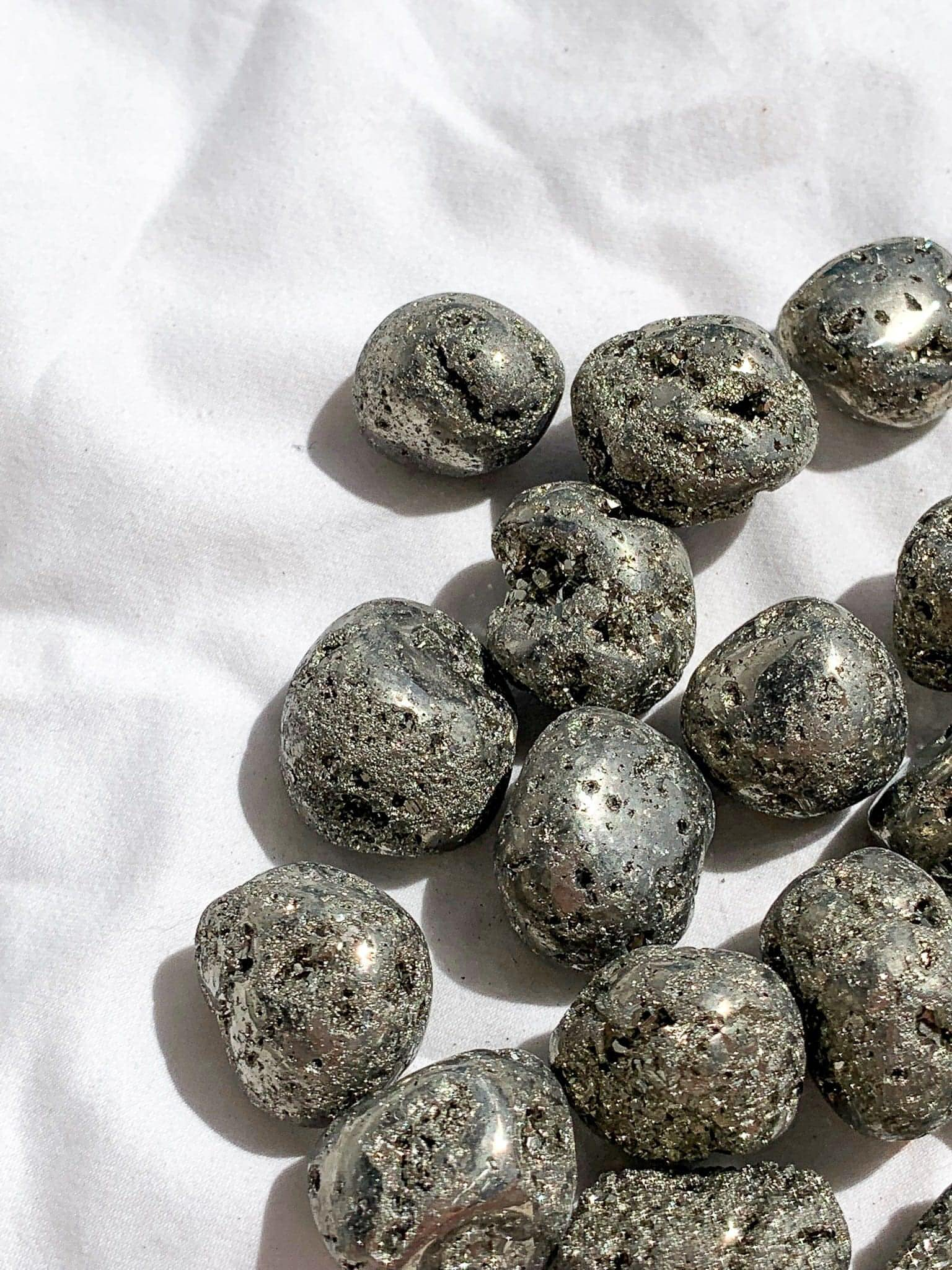 Pyrite Tumbles | Small - Unearthed Crystals
