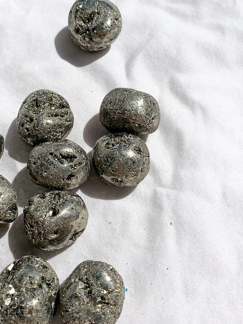 Pyrite Tumbles | Medium - Unearthed Crystals