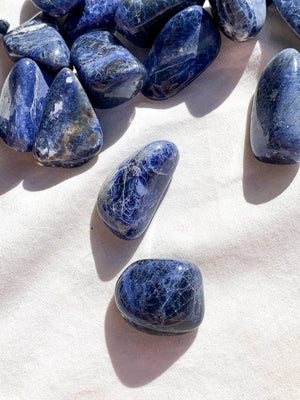 Sodalite Tumbles | Small - Unearthed Crystals