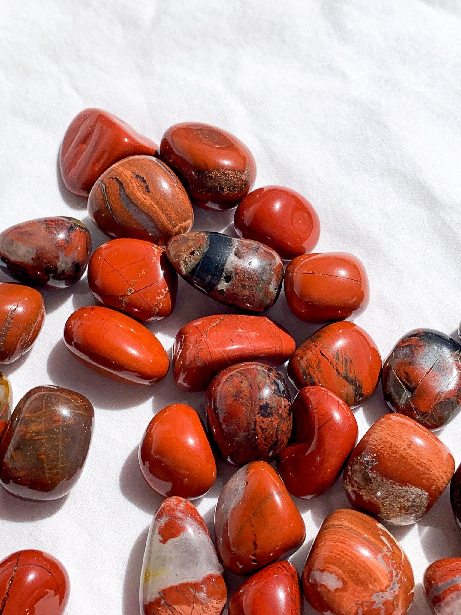 Red Jasper Tumble | Small - Unearthed Crystals