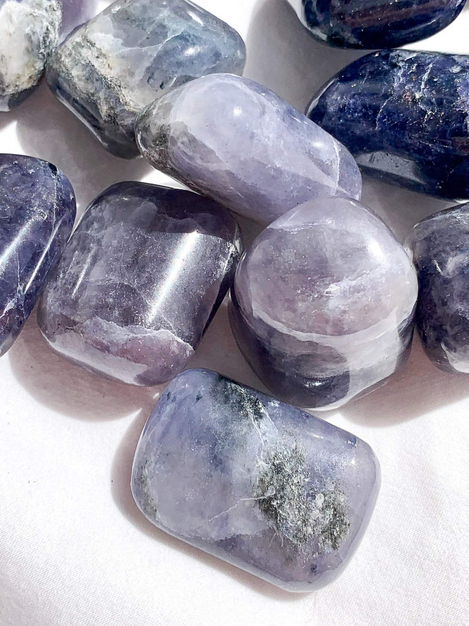 Iolite Tumbles | Medium - Unearthed Crystals