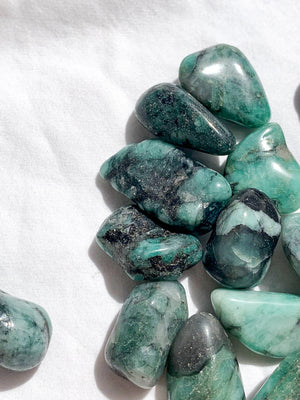 Emerald Tumbles | Small - Unearthed Crystals