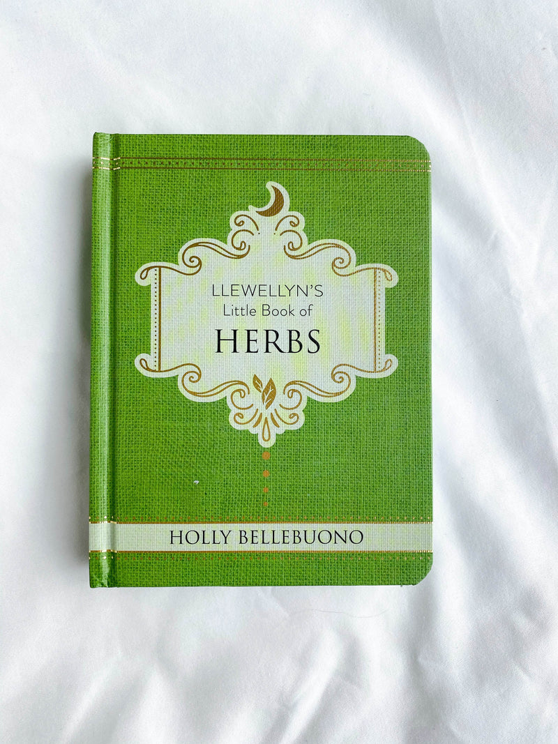 Llewellyn's Little Book of Herbs - Unearthed Crystals