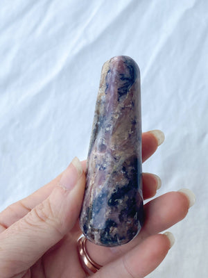 Pink Opal Massage Wand - Unearthed Crystals