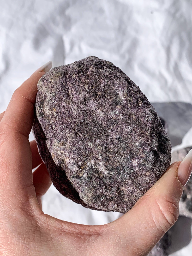 Lepidolite Rough | Extra Large - Unearthed Crystals