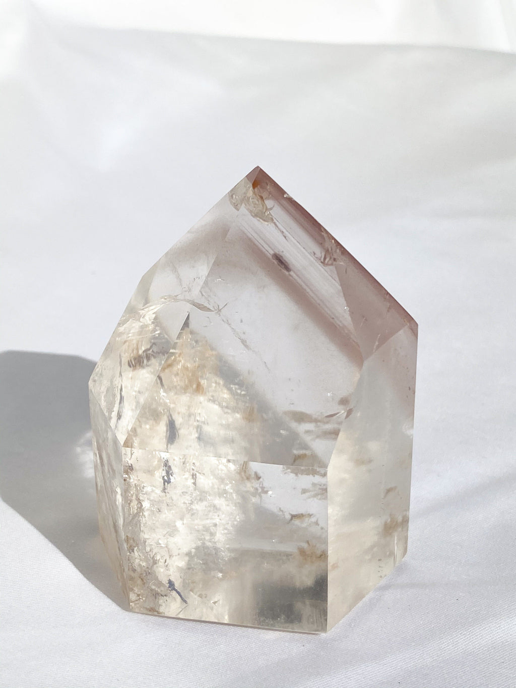 Lithium Quartz Natural Point | Cut and Polished - Unearthed Crystals