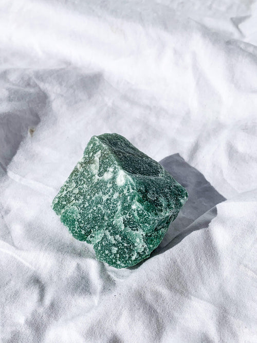 Green Aventurine Rough | Large - Unearthed Crystals