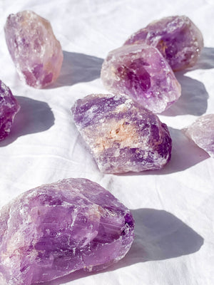 Amethyst Rough  | Extra Large - Unearthed Crystals