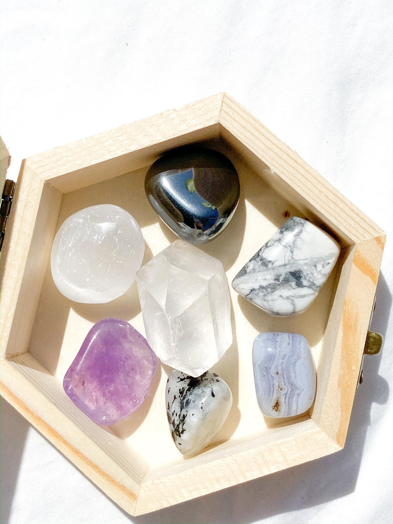 Headache & Migraine Antidote Box © - Unearthed Crystals