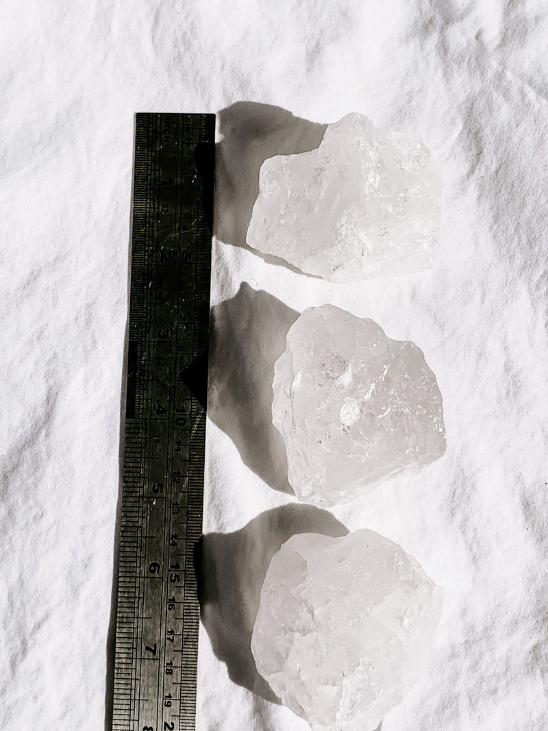 Clear Quartz Rough | Large - Unearthed Crystals