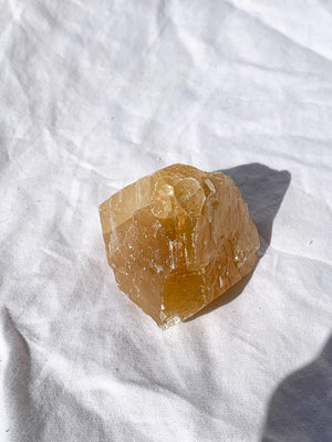 Honey Calcite Rough | Large - Unearthed Crystals