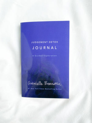 Judgement Detox Journal - Unearthed Crystals