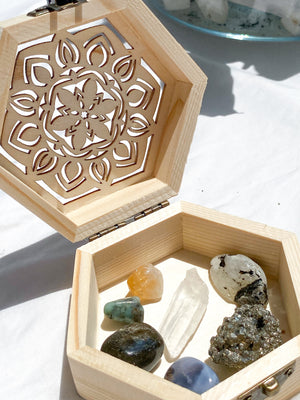Hormonal Balance Antidote Box  © - Unearthed Crystals