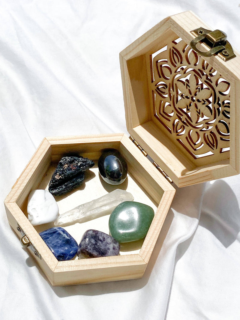 Anxiety Antidote Box © - Unearthed Crystals