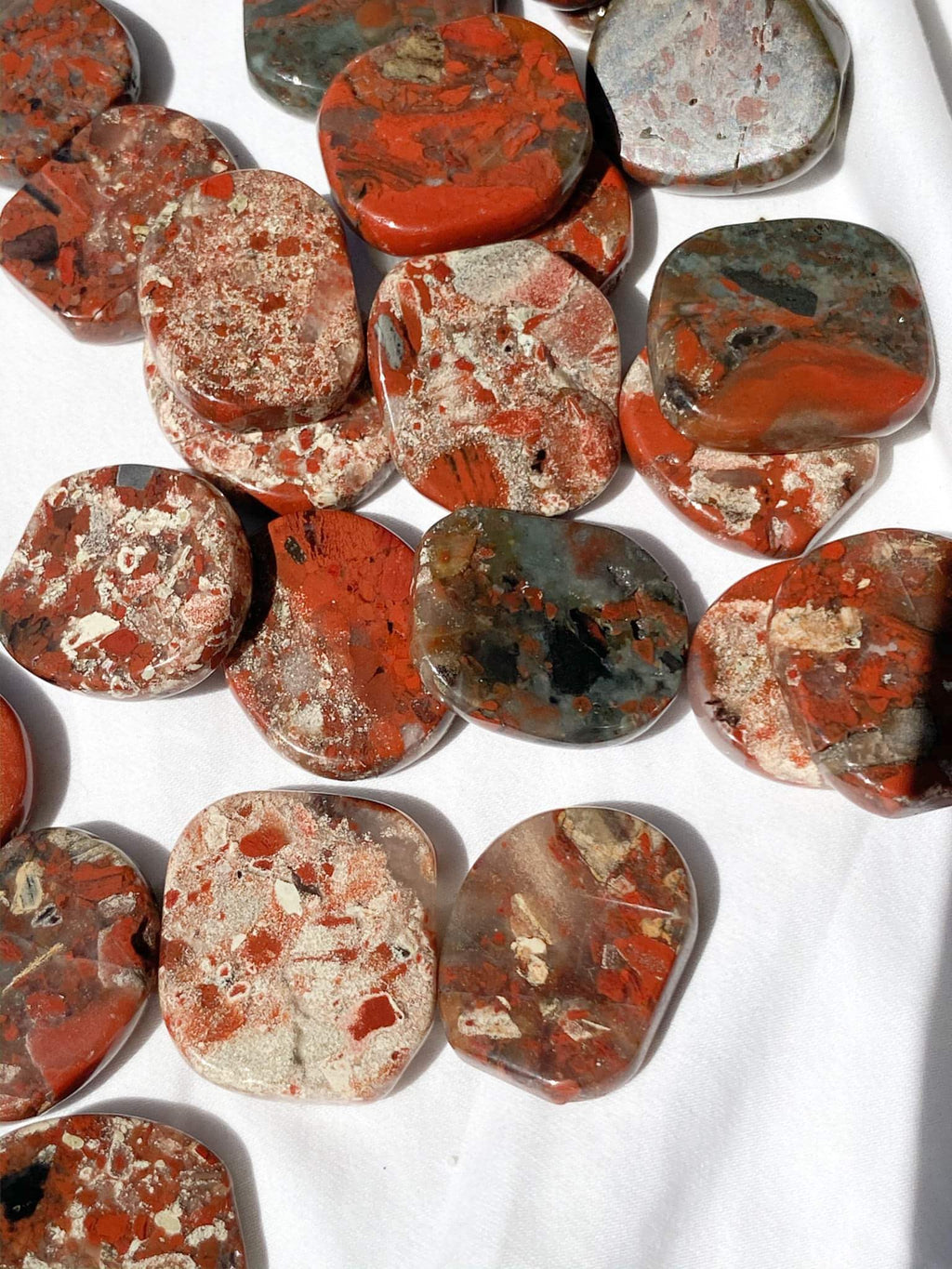 Brecciated Jasper Coin - Unearthed Crystals