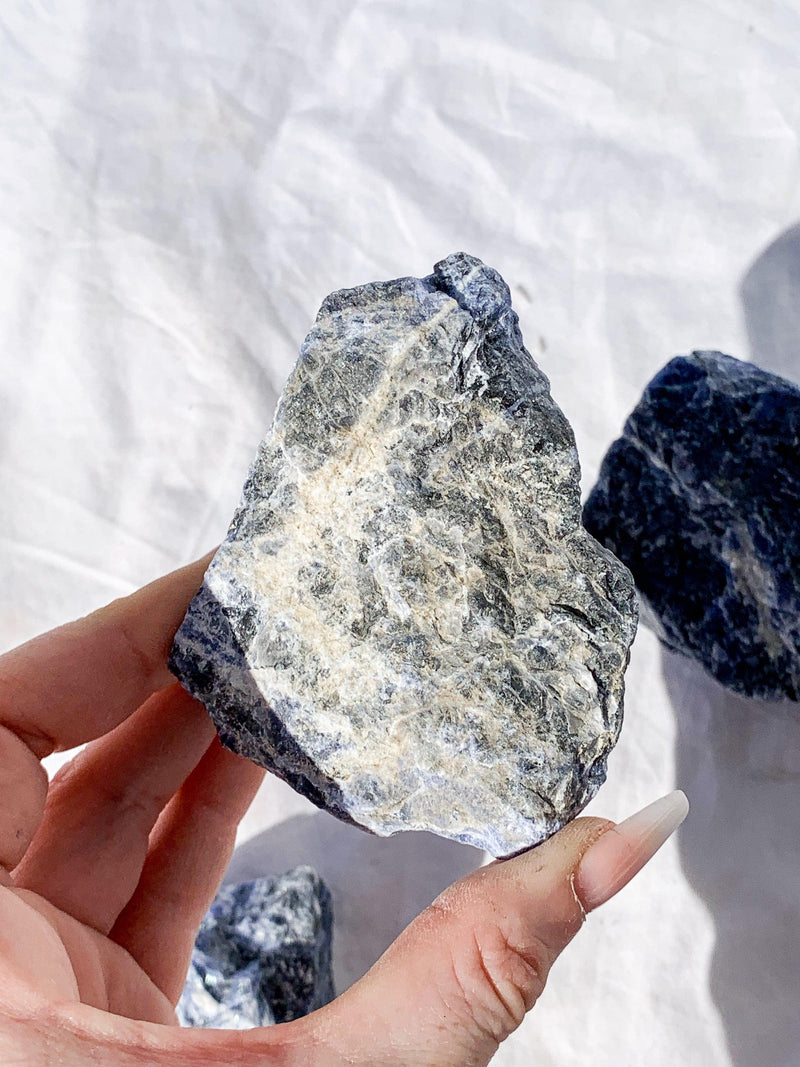 Sodalite Rough | Extra Large - Unearthed Crystals