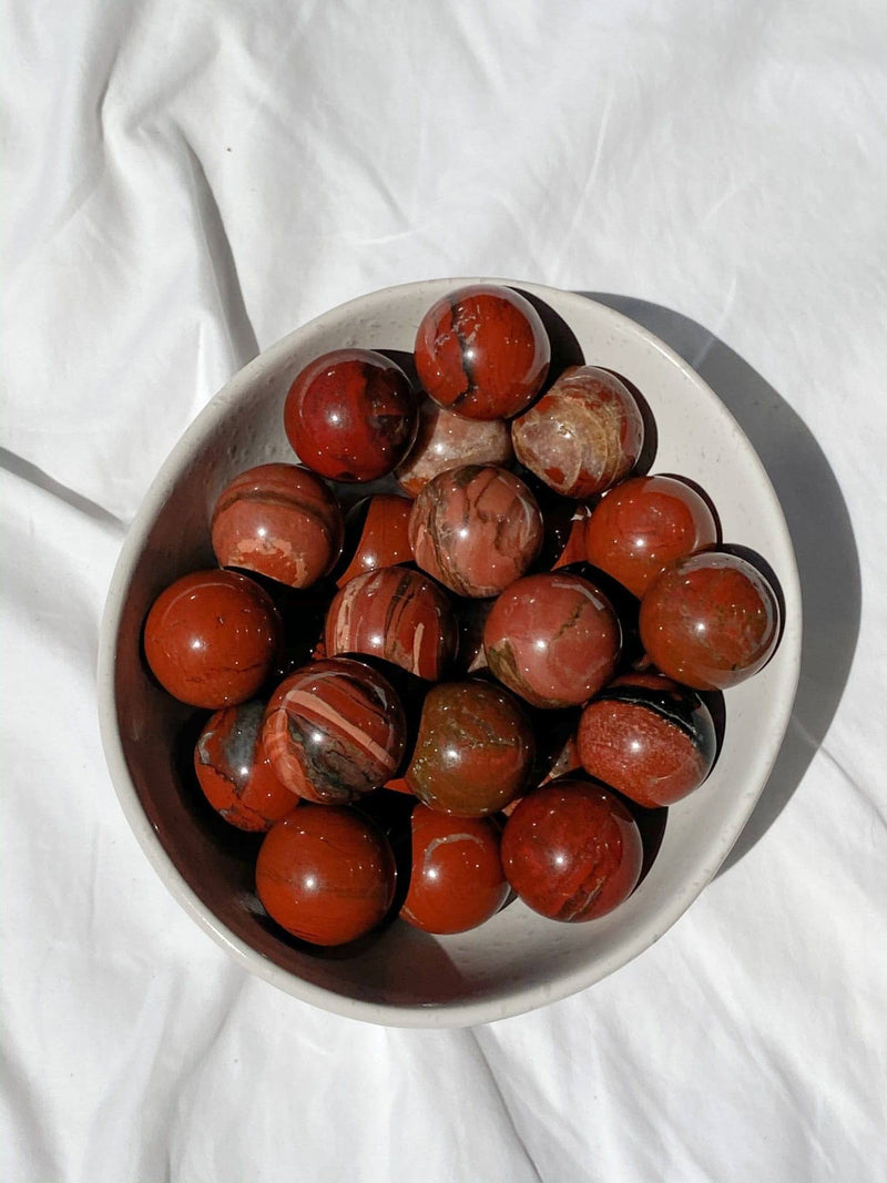 Red Jasper Sphere | Small - Unearthed Crystals
