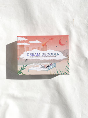 Dream Decoder | 60 Cards to Unlock Your Unconscious - Unearthed Crystals