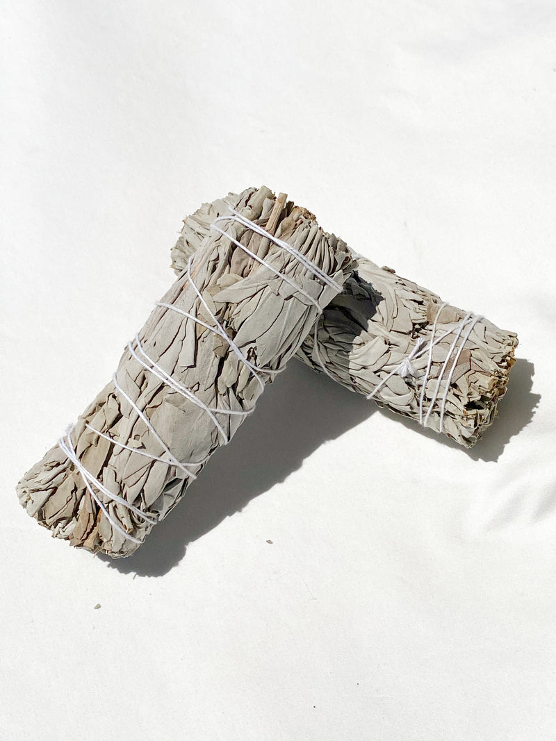 White Sage Cleansing Stick - Unearthed Crystals