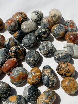 Maligano Jasper Tumble | Small - Unearthed Crystals