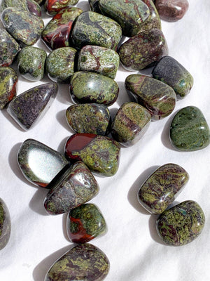 Dragons Blood Jasper Tumbles | Small - Unearthed Crystals