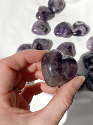 Amethyst Heart | Medium - Unearthed Crystals