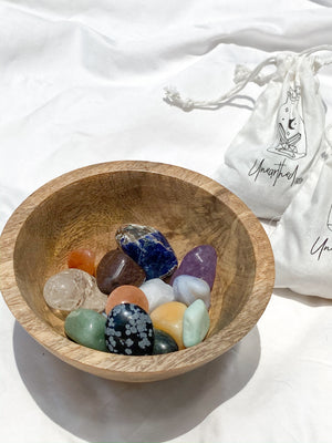 Tiny Human Essentials Pouch | Tumble Collection Starter - Unearthed Crystals