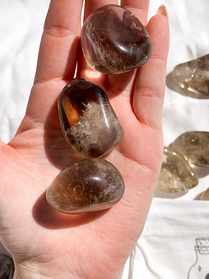 Smokey Quartz Tumbles | Large - Unearthed Crystals