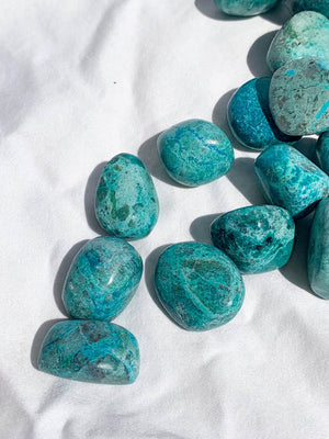 Chrysocolla Tumbles | Small - Unearthed Crystals