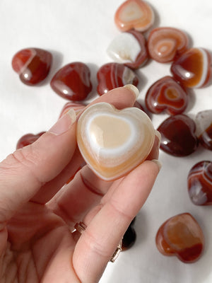 Carnelian Heart | Small - Unearthed Crystals