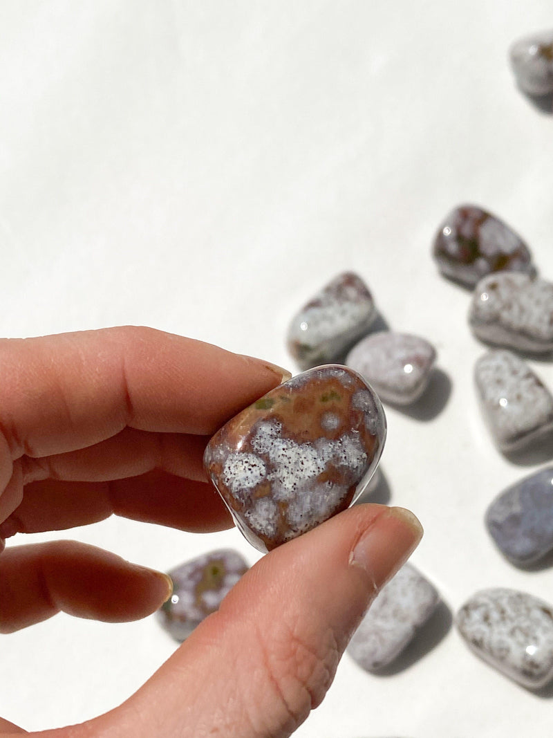 Poppy Jasper Tumble | Small - Unearthed Crystals