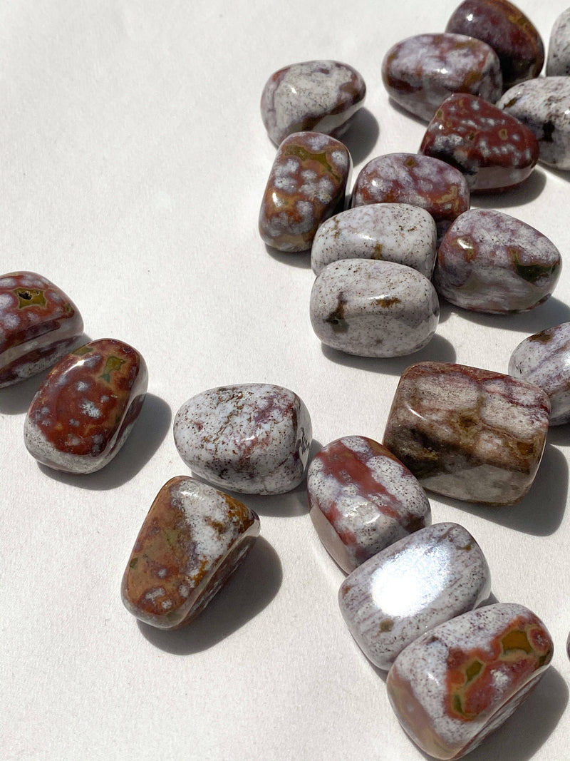 Poppy Jasper Tumble | Medium - Unearthed Crystals