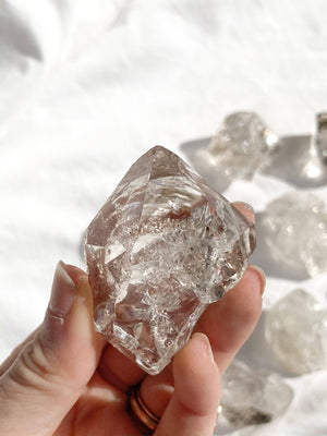 Herkimer Diamond | In The Rough | Medium - Unearthed Crystals