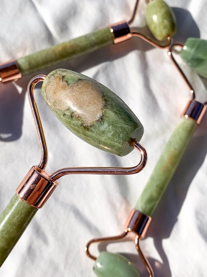 New Jade Facial Roller - Unearthed Crystals
