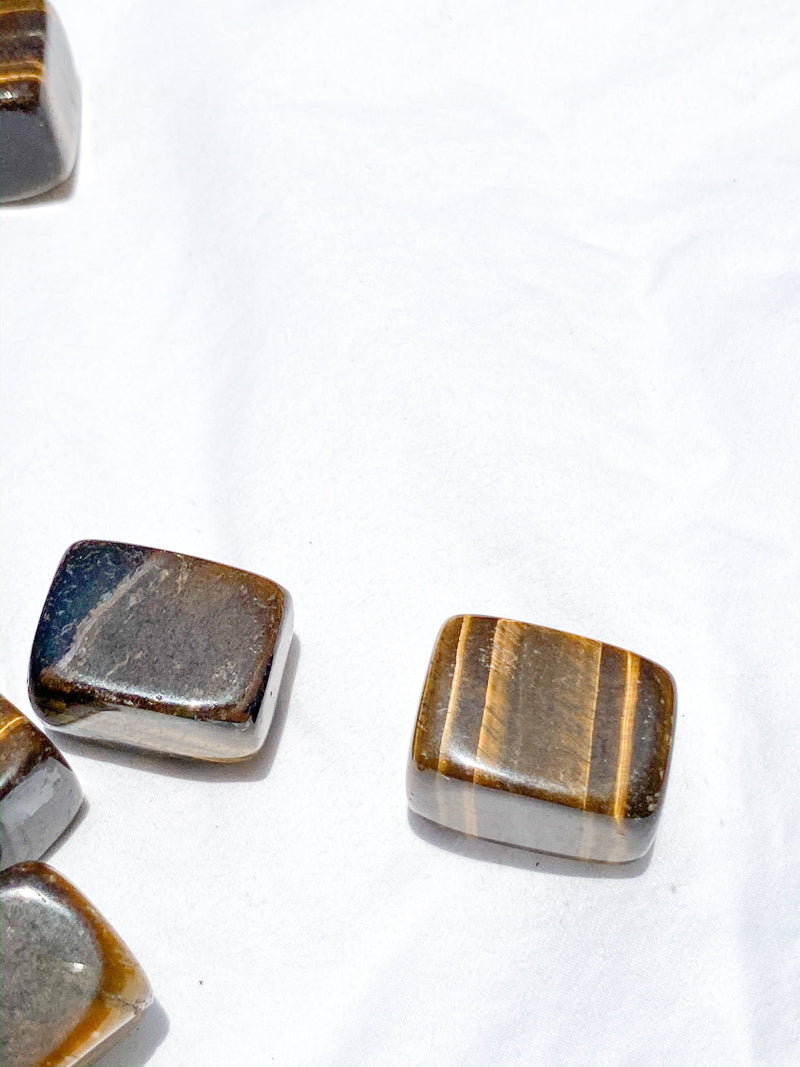 Tigers Eye Tumbles | Large - Unearthed Crystals